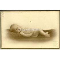 Foto Carton Bebe Bixio Circa 1920 Antigua Estudio