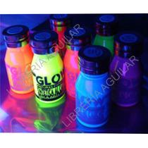 Pintura Fluo Fluorescente Brilla Bajo Luz Ultravioleta Negra