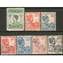 India Holandesa Serie No Completa X 7 Usados Reina 1913-22