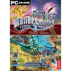 Game Pc Roller Coaster Tycoon 3 Deluxe Edition