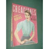 Revista Creaciones 42 Feb56 Blusas Jumpers Vestidos Ropa