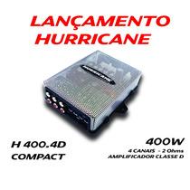 Kit Módulo H400.4d Mini Digital + Woofer 8 4 Ohms Hurricane