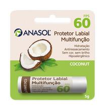 Anasol Protetor Solar Labial Fps 60 Côco Coconut