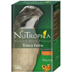 Ração Para Trinca Ferro Nutrópica Frutas Super Premium 300g
