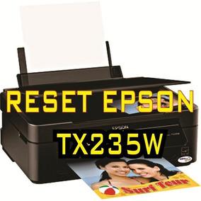 Reset Impressora Epson Tx235w + Frete Grátis