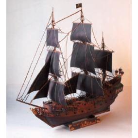 Barco Pirata Perla Negra Modelismo (para Armar En Papel)