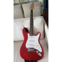 Guitarra Sx Rst 3/4 62 - Branco/verelho - Vintage