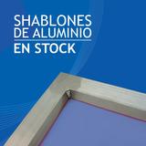 Shablon De Aluminio 40 X 50 Con Seda 47 Hilos