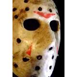 Martes 13, Mascara Jason Rigida, Halloween, Friday Night !