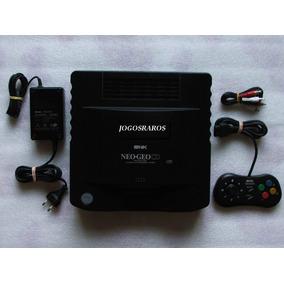 Neo Geo Cd Com Leitor Novo E Garantia! Lendo Tudo Perfeito!