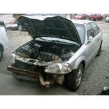 Eixo Dianteiro Esquerdo Honda Civic Lx 1.6 Manual 99