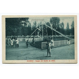 Postal Juegos Del Jardin De Niños Rosario Santa Fe 1922