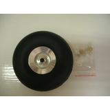 Rodas 1,5 Polegadas Aluminio E Espuma Emborrachada