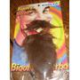 Barba Y Bigote Postizo Castaño Adhesivo Acepto Mercadopago