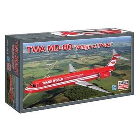 Md-80 De Minicraft En 1/144+calcas De Aerolineas/austral