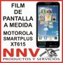 Film Protector De Pantalla Motorola Smart Plus Xt615 - Nnv