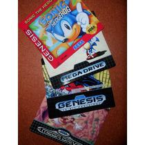 Labels - Etiquetas Para Mega Drive / Genesis - Jap/usa/br