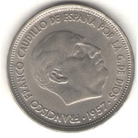 España 50 Pesetas 1957 (58) Exc+