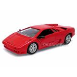 Lamborghini Diablo 1:24 Maisto 31903-vermelho