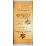 Monijor62- Antiguo Envoltorio Golosina Chocolate Noel 1928