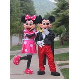 Arriendo Disfraz Corporeo De Minnie,mickey,woody, Buzz, Dora