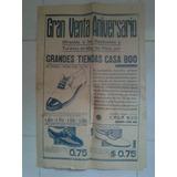 Mar Del Plata: Antiguo Afiche Publicitario De Casa Boo