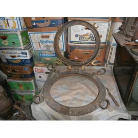 Antiguo Ojo De Buey De Bronce Grade Sin Vidrio
