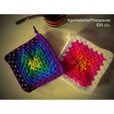 Agarraderas / Posapavas Tejidas A Crochet