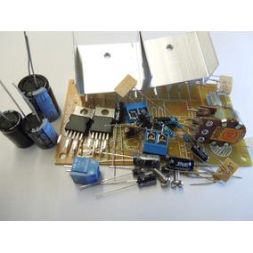 Kit Para Montar Amplificador Estéreo 14 + 14 W Rms Tda2030