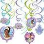 Guirnalda Princesa Tiana Y El Sapo Disney.