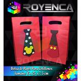 Cotillones Personalizados Bolsas Unicolor De Papel Regalos