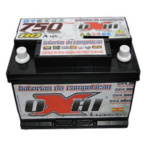 Bateria De Som Oxhi Bass 80ah\hora E 750/pico. + Brindes