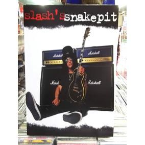Slash Guitarrista Guns N Roses Lindo Quadro Artesanal