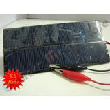 Painel Placa Célula Energia Solar Fotovoltaica 5.5v 250 Mah