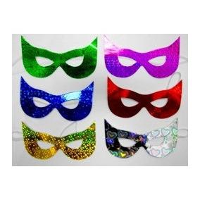 Kit 120 Mascaras Carnaval Casamento Formatura Aniversario 2879fa9a5d1