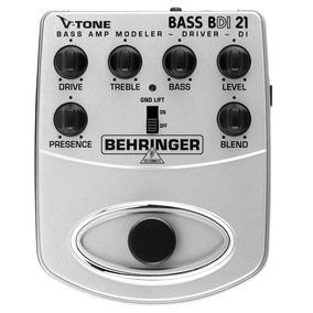 Bdi21: Pedal Behringer V-tone Bass Amp Bdi21