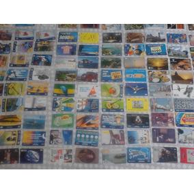 Lote Com 157 Cartões Telefonicos, Diversos Temas.