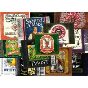 50 Rótulos De Cerveja Diferentes - Originais E Intactos!