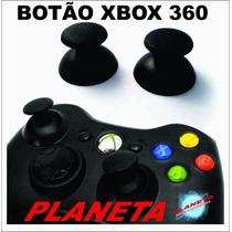 Botão Analógico Xbox 360 Black Preto Original - 2 Unidades