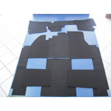 Carpete Preto Cortado Para Vw Fusca
