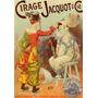 Circo Jacquot Palhaços Paris Poster Repro