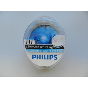 Lampada Philips Diamond Vision H1 55w 5000k Original
