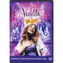 Violetta En Vivo Desde Buenos Aires Pelicula Dvd