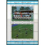 Argentina 2 Blocs Nuevo Fútbol = Mundial México Año 1986