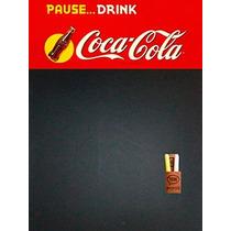 Pizarron Pizarra De Chapa Coca Cola Bar Resto