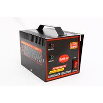 Carregador Baterias Carro E Moto 10ah Automático Inteligente