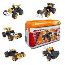 Meccano Junior 16104 Toolbox Autos De Carrera Con Pullback