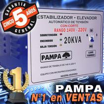 Elevador De Tensión Automático Para Comercio Pampa Fabrica