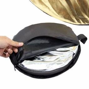 Rebatedor Circular 110cm Dobrável 5 Em 1 + Bolsa Novo