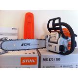 Motosierra Stihl Ms170 Nva Original + Aceite Stihl + Regalo